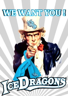 IceDragons - We Want You!